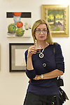 Port Washington, New York, U.S 6th October 2013.  ELLEN HALLIE SCHIFF, Vice President of the Art Guild of Port Washington, at The Artists Reception for Members Showcase, at The Graphic Eye Gallery.
