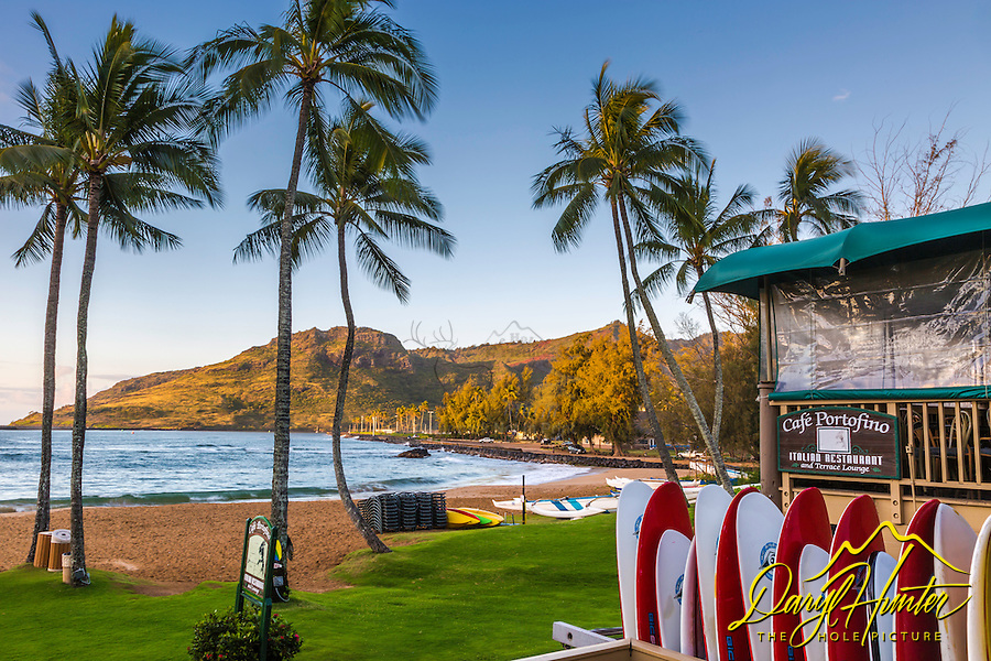 Early morning at Kalapaki Beach, Lihue, kauai, Hawaii