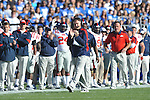 Ole Miss head coach Houston Nutt vs. Kentucky at Commonwealth Stadium in Lexington, Ky. on Saturday, November 5, 2011. ..