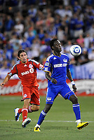 Kei Kamara...Kansas City Wizards defeated Toronto FC 1-0 at Community America Ballpark, Kansas City, Kansas,