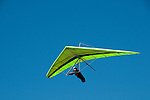 Hang gliding, hang glider, Fort Funston, San Francisco, California, USA.  Photo copyright Lee Foster.  Photo # california108414