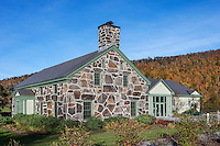The Calvin Coolidge Memorial Foundation museum, office and education center, Plymouth Notch, Vermont, USA