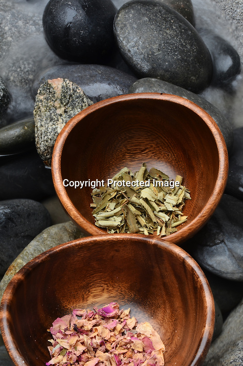 Stock photos of mixed herbs