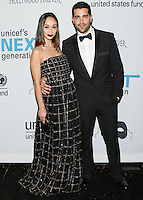 HOLLYWOOD, LOS ANGELES, CA, USA - OCTOBER 30: Cara Santana, Jesse Metcalfe arrive at UNICEF's Next Generation's 2nd Annual UNICEF Masquerade Ball held at the Masonic Lodge at the Hollywood Forever Cemetery on October 30, 2014 in Hollywood, Los Angeles, California, United States. (Photo by Rudy Torres/Celebrity Monitor)