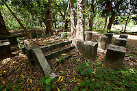 Old WWII Japanese School, Yap Micronesia (Photo by Matt Considine - Images of Asia Collection)