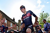 Picture by Allan McKenzie/SWpix.com - 14/05/2017 - Cycling - HSBC UK British Cycling Spring Cup Series  - Lincoln Grand Prix 2017 - Ian Bibby after the win