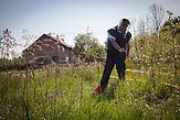 Novo Selo. Beside landmines thousands of unexploded ordnance (UXO) and cluster munition threaten the people of Bosnia & Herzegovina.