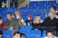 Some Welsh supporters looking relaxed before the game between Wales v Finland Vauxhall International friendly football match at the Cardiff City stadium, Cardiff, Wales. Photographer - Jeff Thomas Photography. Mob 07837 386244. All use of pictures are chargeable.