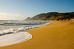 California, San Francisco: Montara Beach along the San Mateo Coast..Photo #: 35-casanf401-31241.Photo © Lee Foster 2008