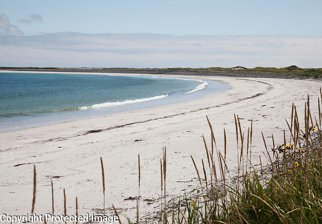 Whitemill Bay on Sanday Island in the Orkney Islands, Scotland