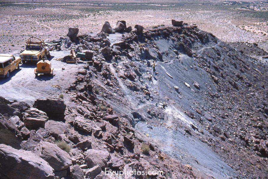 15<br /> <br /> Dalton Wells Quarry<br /> Moab Dinosaur Dig 1975-76<br /> <br /> James Jensen<br /> 2821 North 700 East<br /> Provo, UT 84601<br /> <br /> <br /> April 11, 2017<br /> <br /> Photography by /BYU<br /> <br /> Copyright 2017 BYU Photo<br /> All Rights Reserved<br /> (801)422-7322