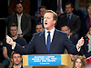 Conservative Party Spring Forum <br /> at The Old Granada Studios, Manchester, Great Britain <br /> 28th March 2015 <br /> <br /> <br /> <br /> David Cameron <br /> Prime Minister and Leader of the Conservatives <br /> speech <br /> <br /> <br /> Photograph by Elliott Franks