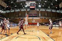 SAN ANTONIO, TX - OCTOBER 31, 2015: The University of Texas at San Antonio Roadrunners defeat the Trinity University Tigers 59-50 at the UTSA Convocation Center. (Photo by Jeff Huehn)