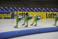 SCHAATSEN: HEERENVEEN: 16-01-2016 IJsstadion Thialf, Trainingswedstrijd Topsport, team Afterpay, ©foto Martin de Jong