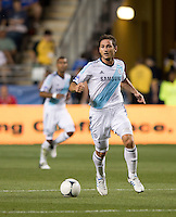 Frank Lampard.  The MLS All-Stars defeated Chelsea, 3-2.