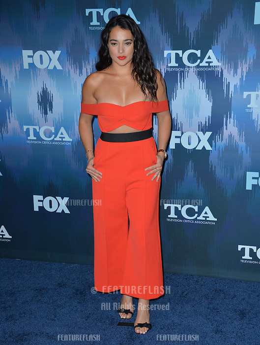 Natalie Martinez at the Fox Winter TCA 2017 All-Star Party at the Langham Huntington Hotel, Pasadena, USA 11th January  2017<br /> Picture: Paul Smith/Featureflash/SilverHub 0208 004 5359 sales@silverhubmedia.com