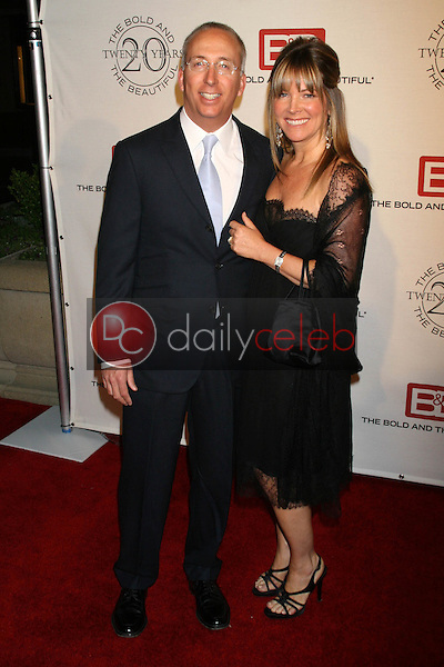 William J. Bell Jr. and guest<br />at the celebration for &quot;The Bold and The Beautiful&quot; 20 years on air. Rodeo Drive, Beverly Hills, CA. 03-24-07<br />Dave Edwards/DailyCeleb.com 818-249-4998