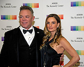 Actress Gabriella Anwar and guest arrive for the formal Artist's Dinner honoring the recipients of the 39th Annual Kennedy Center Honors hosted by United States Secretary of State John F. Kerry at the U.S. Department of State in Washington, D.C. on Saturday, December 3, 2016. The 2016 honorees are: Argentine pianist Martha Argerich; rock band the Eagles; screen and stage actor Al Pacino; gospel and blues singer Mavis Staples; and musician James Taylor.<br /> Credit: Ron Sachs / Pool via CNP