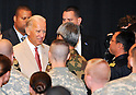 Joe Biden, Tokyo, Japan, August 24, 2011 : U.S. Vice President Joe Biden shakes hands with military personnel at Yokota Air Base in Tokyo, Japan, on August 24, 2011. (Photo by AFLO) [3620]