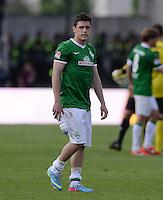 Fussball 1. Bundesliga   Saison  2012/2013   34. Spieltag   1. FC Nuernberg - SV Werder Bremen       18.05.2013 Enttaeuschung SV Werder Bremen; Zlatko Junuzovic