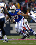 3 December 2006: Buffalo Bills center Melvin Fowler (67) in action against the San Diego Chargers at Ralph Wilson Stadium in Orchard Park, New York. The Charges defeated the Bills 24-21. Mandatory Photo Credit: Ed Wolfstein Photo<br />