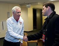 Tom Sermanni USWNT Head Coach Press Conference, October 31, 2012
