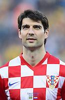 FUSSBALL WM 2014  VORRUNDE    Gruppe A    12.06.2014 Brasilien - Kroatien Vedran Corluka  (Kroatien)