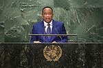 Niger<br /> H.E. Mr. Mahamadou Issoufou<br /> President<br /> <br /> <br /> General Assembly Seventy-first session, 17th plenary meeting<br /> General Debate