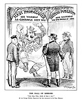 """The Hall of Mirrors. """"Now the, Fritz, which of them is me?"""" [A new Foreign Publicity Department has been announced by the Prime Minister.]"""