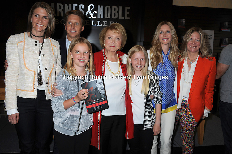 "Lee Phillip Bell and family  attends the book signing of "" The Young & Restless LIfe of William J Bell"" by Michael Maloney and Lee Phillip Bell  on June 21, 2012 at The Barnes & Nobles in The Grove in Los Angeles."