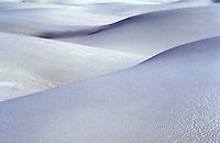 USA, New Mexico, White Sands national Monument. sand dunes