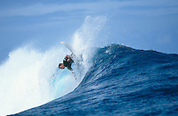 Vetea David (PYF), Gotcha Tahiti Pro, 1999..photo:  joliphotos.com