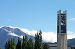 0406-39 Buildings ..Carrillon Bell Towers..6/18/04..Photo by Jaren Wilkey/BYU