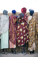 Women watch events at the Twic Olympics in Wunrok, Southern Sudan.