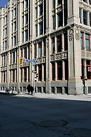 January 22, 2005, Toronto (Ontario) CANADA<br /> Much Music headquarters on Richmond street in downtown   in Toronto, canada<br /> Photo (c) 2005 P Roussel / Images Distribution