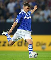 FUSSBALL   EUROPA LEAGUE   SAISON 2011/2012   Play-offs FC Schalke 04 - HJK Helsinki                                25.08.2011 Klaas-Jan HUNTELAAR (Schalke) erzielt per Elfmeter das Tor zum 3:1