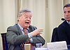 Ken Clarke speaking at &lsquo;Shrinking Pains - <br /> The size and functions of the state over the parliament and beyond.'<br /> Resolution Foundation event at Mary Sumner House, London, Great Britain <br /> 10th November 2015 <br /> <br /> <br /> Ken Clarke MP<br /> <br /> Photograph by Elliott Franks <br /> <br /> <br /> Image licensed to Elliott Franks Photography Services