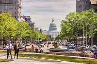 Capitol Building Constitution Avenue Pennsylvania Avenue Washington DC
