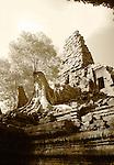 Preah Palilay, Angkor Thom, Cambodia - Infrared Image