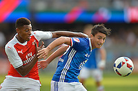San Jose, CA - Thursday July 28, 2016: Arsenal FC, MLS All-Stars  during a Major League Soccer All-Star Game match between MLS All-Stars and Arsenal FC at Avaya Stadium.