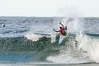 Snapper Rocks, Coolangatta Queensland Australia (Monday, March 14 2016): Filipe Toledo (BRA) - Round Two of the first WCT event of the year, the Quiksilver Pro Gold Coast, was completed this morning followed by Round Three and two heats of Round Four.  The upsets continued with the Tour Rookies taking out out a good proportion of the heats with Stu Kennedy(AUS) again showing great form by defeating Gabriel Medina (BRA). The event was put on hold for over 2 hours while organisers waited for the tide to drop. The surf was in the 4'-5' range most of the day.Photo: joliphotos.com