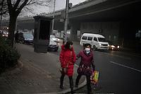 17 March 2012; 4°C, Around 17h30 - Beijing.