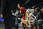 Ole Miss Lady Rebels assistant coach Rebecca Kates-Taylor vs. Mississippi Valley State at the C.M. &quot;Tad&quot; Smith Coliseum in Oxford, Miss. on Tuesday, November 27, 2012.