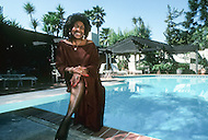 Los Angeles, U.S.A, 1987. Zelma Bullock, the mother of Tina Turner. . Zelma Bullock, the mother of Tina Turner.