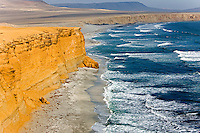 Coastline of Paracas National Park, Peru
