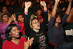 Presidential Election Night Watch Party held at the Schomburg Center