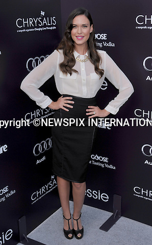 """ODETTE YUSTMAN.attends the 10th Annual Chrysalis Butterfly Ball at a private estate on June 11, 2011 in Los Angeles, California..Mandatory Photo Credit: ©Crosby/Newspix International. .**ALL FEES PAYABLE TO: """"NEWSPIX INTERNATIONAL""""**..PHOTO CREDIT MANDATORY!!: NEWSPIX INTERNATIONAL(Failure to credit will incur a surcharge of 100% of reproduction fees)..IMMEDIATE CONFIRMATION OF USAGE REQUIRED:.Newspix International, 31 Chinnery Hill, Bishop's Stortford, ENGLAND CM23 3PS.Tel:+441279 324672  ; Fax: +441279656877.Mobile:  0777568 1153.e-mail: info@newspixinternational.co.uk"""