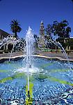 Fountain at Balboa Park