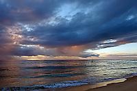 Blue clouds Cottesloe Beach