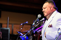 Tony Owens performs at the Ponderosa Stomp in New Orleans on October 3, 2015.